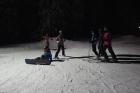 Na své si v noci přišli i snowboarďáci