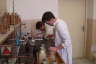 Ukázka z hodin chemie