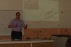 Přednáška o geoinformacích