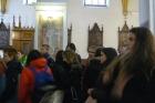 Historická exkurze v gotickém kostele a klášteře v ČB