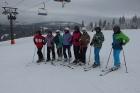 Sjezdové lyžování na Bramberku (Hnědý vrch)