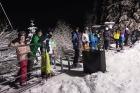 Noční lyžování u vleku U lesa