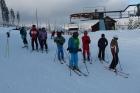 Odjíždíme z lyžování na Bramberku
