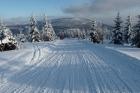 Odjezd na chatu po odpoledním lyžování