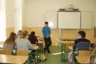 Přednáška o studiu, bádání a úspěších jednoho vědce