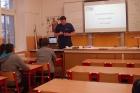 Přednáška o studiu na Fakultě biomedicínského inženýrství ČVUT